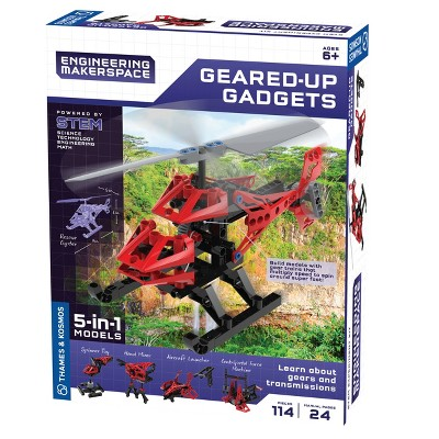 Thames & Kosmos Engineering Makerspace: Geared Up Gadgets