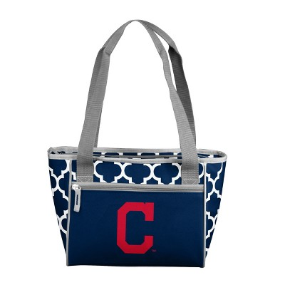 MLB Cleveland Indians 16 Can Cooler Tote