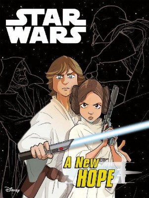 Star Wars : A New Hope Graphic Novel Adaptation -  (Paperback)
