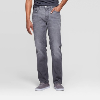 Men's Regular Slim Straight Fit Jeans - Goodfellow & Co™ Gray