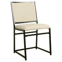 Industrial Dining Chair Tall Table And Chairs Outdoor Metal Homepop Target