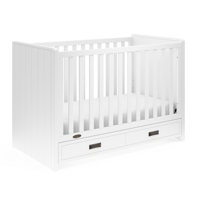 Graco Cottage 3-in-1 Convertible Crib with Drawer