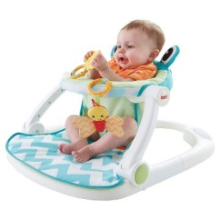 Fisher Price Sit And Play Chair Swivel Dining Me Up Floor Seat Citrus Frog Target