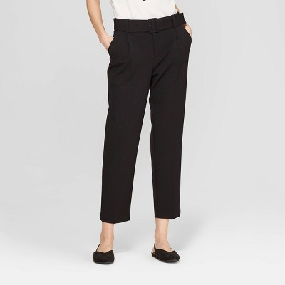 Women's Slim Fit Belted Trouser - A New Day™