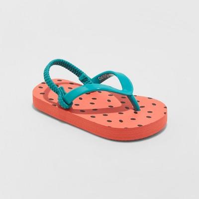 Toddler Girls' Keira Fruit Flip Flop Sandals - Cat & Jack™ Red