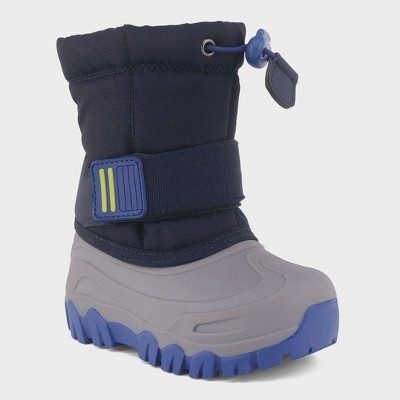 Toddler Boys' Barrett Winter Boots - Cat & Jack™ Navy