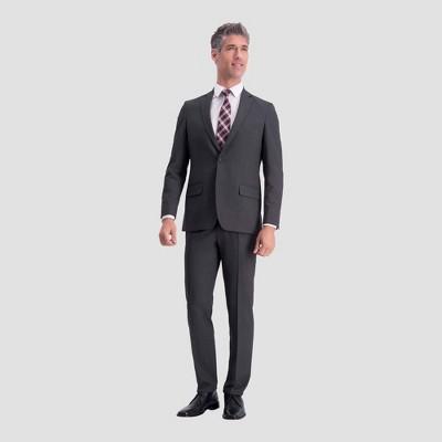 Haggar H26 Slim Fit Premium Stretch Suit Jacket - Charcoal Heather