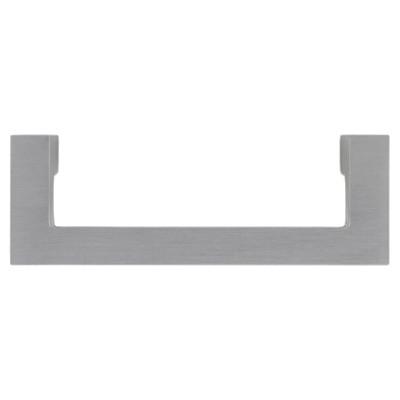 Sumner Street Home Hardware - 3 - 4 -Piece - Pull - Satin Nickel Rhombus Rigid