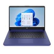"HP 14"" Stream Touchscreen Laptop with Windows Home in S mode - AMD Processor - 4GB RAM Memory - 64GB Flash Storage - Indigo Blue (14-fq0037nr)"