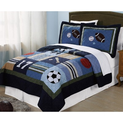 All State Quilt Set - My World
