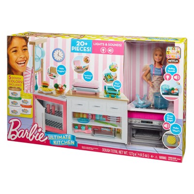 barbie kitchen playset lighting ideas ultimate target 13 more