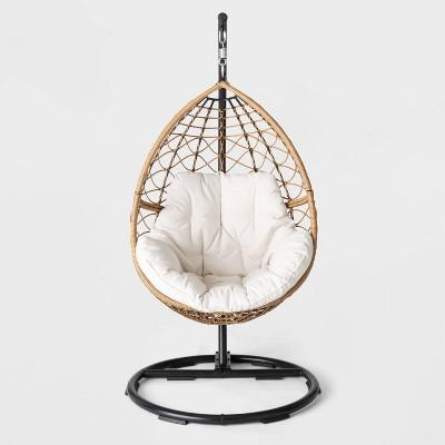britanna patio hanging egg chair natural opalhouse