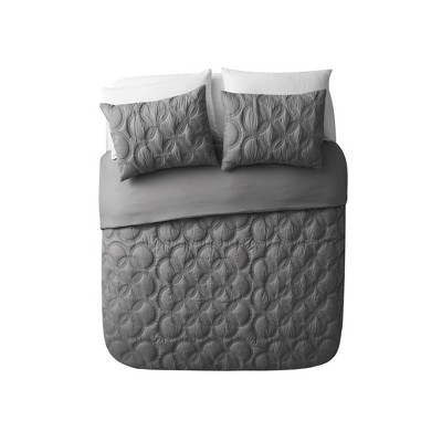 Atoll Embossed Bed in a Bag Comforter Set - VCNY HOME