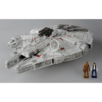 Star Wars Powered by Transformers - Millennium Falcon Action Figures