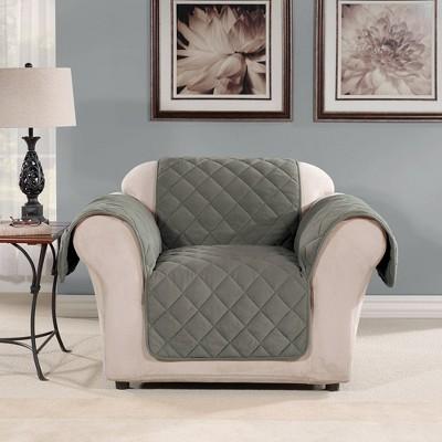 dual reclining loveseat slipcover target
