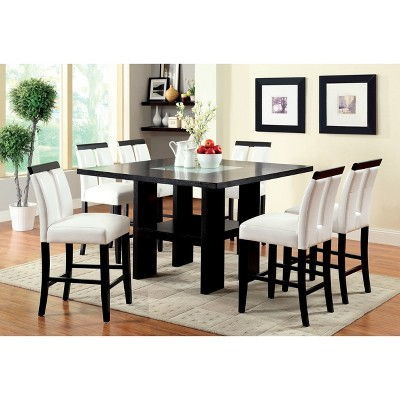 Iohomes Dinette Set Wood Galaxy Black White Target
