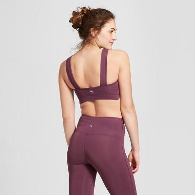 also women   lightweight premium scalloped edge sports bra joylab target rh