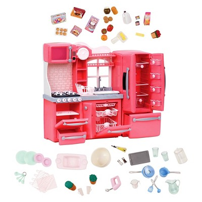 kitchen set delta sinks our generation gourmet accessory pink target