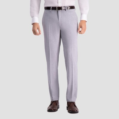 Haggar H26 Slim Fit Premium Stretch - Light Gray