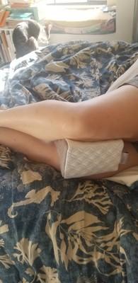 memory foam knee pillow sealy