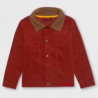 Boys' Stranger Things Luca's Fleece Jacket - Brown