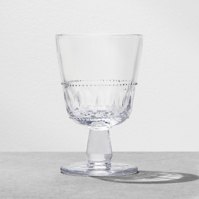 Glass Goblet Clear - Hearth & Hand™ with Magnolia