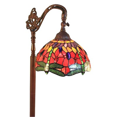 Red Dragonfly Reading Lamp (Lamp Only)