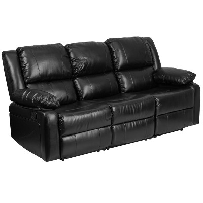Recliner Leather Sofa - Riverstone Furniture Collection
