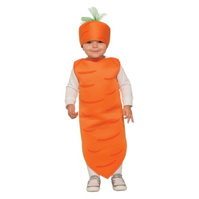 Toddler Carrot Halloween Costume 3T-4T