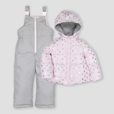 Toddler Girls' 2pc Snowsuit Just One You® made by carter's Pink
