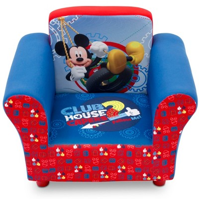 mickey mouse clubhouse chair purple accent chairs living room disney upholstered target