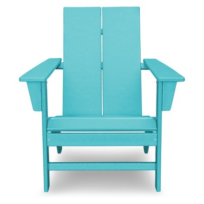 polywood adirondack chairs accent blue st croix contemporary chair target