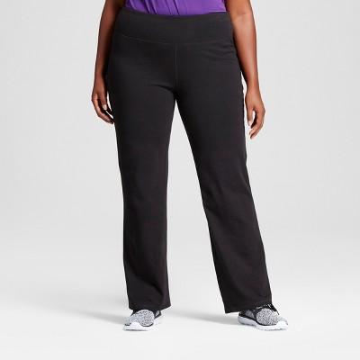 Women's Plus Size Cotton Spandex Semi-Fit Pants - C9 Champion®