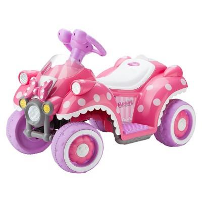 Kid Trax Disney Minnie Mouse 6v Quad Ride On Target