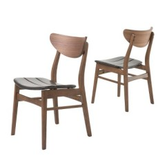 Dark Brown Wooden Dining Chairs Cheap Ivory Chair Covers Anise Set Of 2 Christopher Knight Home