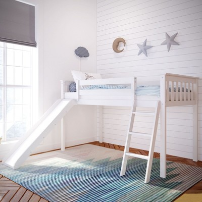 twin loft bed curtains target