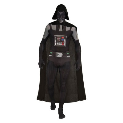 Men's Star Wars Darth Vader Second Skin Halloween Costume