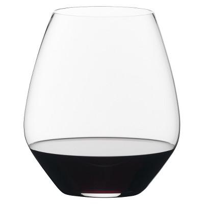 Riedel Vivant 22oz 2pk Pinot Noir Stemless Wine Glasses
