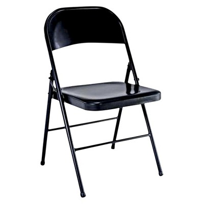fold up chairs target folding chair with writing tablet black plastic dev group
