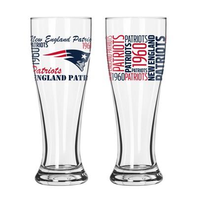 NFL 2pk Spirit Pilsner Glasses