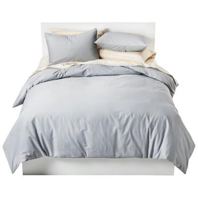 Solid Cotton Blend Duvet Cover Set - Room Essentials™