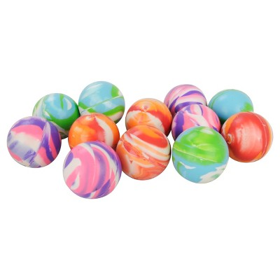 12ct marbled bouncey ball