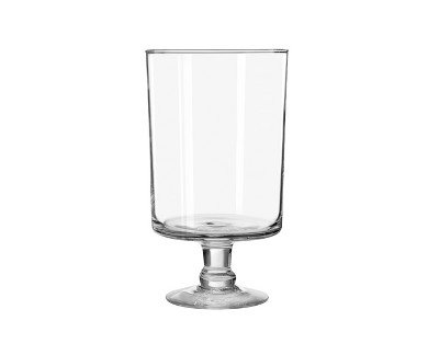 """Glass Harbor Vase Clear 11"""" - Libbey"""