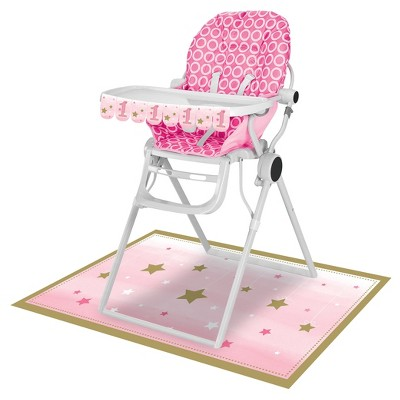 baby girl chair cool comfy chairs one little star high kit target about this item