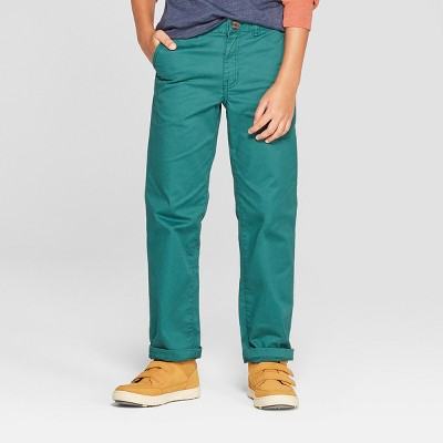 Boys' Chino Pants - Cat & Jack™ Green
