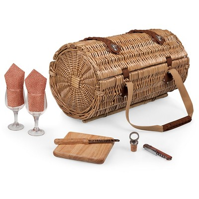 Picnic Time Verona Wine and Cheese Basket - Adeline Collection