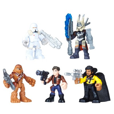 Star Wars Galactic Heroes Smugglers and Scoundrels Pack -5pc