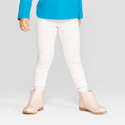 Toddler Girls' Cozy Leggings - Cat & Jack™ Light Pink