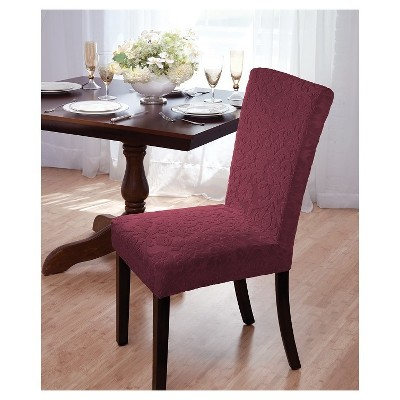 chair covers for dining room folding decorative velvet damask cover madison target about this item