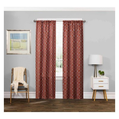 Carroll Thermaweave Blackout Curtain Panels - Eclipse